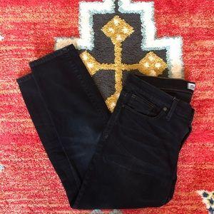 Madewell Darkwash Skinny Jeans